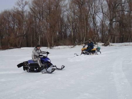 Сузунский район снегоход IRBIS DINGO T125