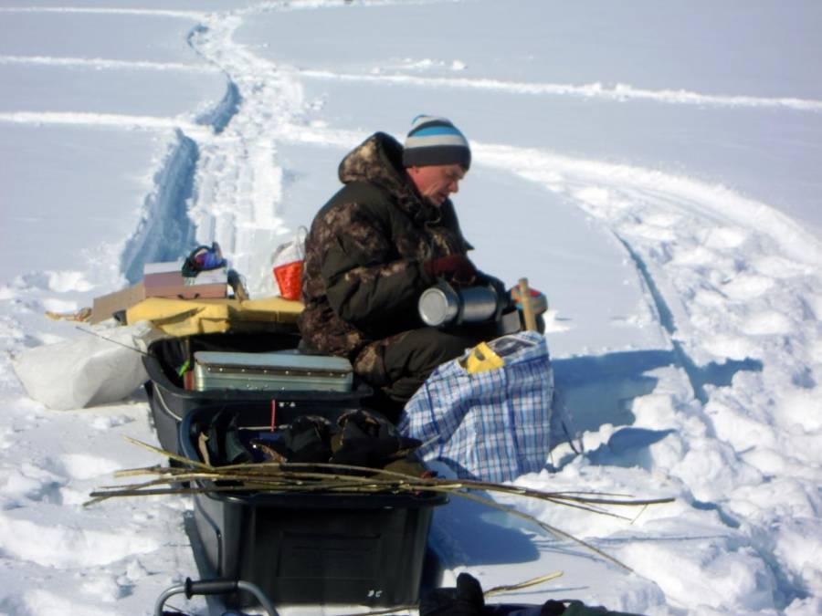 Рыбалка в Каргаполово.