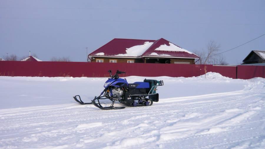 Сузунский район снегоход Ирбис Динго Т-125