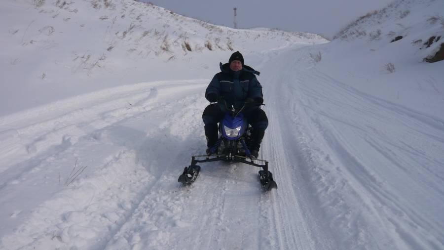 Снегоход Ирбис Динго Т-125