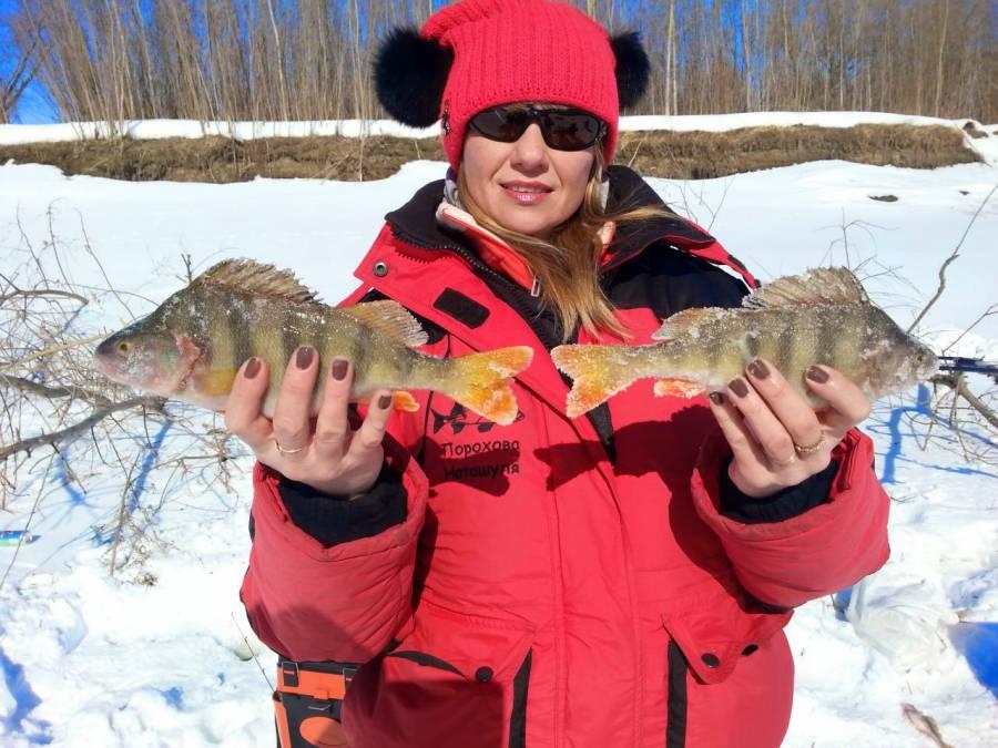 Рыбалка в марте в Сузунском районе.