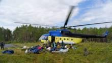 Вертолетные туры на рыбалку в Томскую область.
