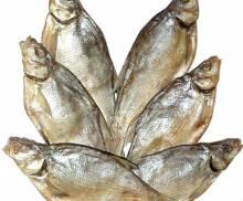 Вяленая рыба.